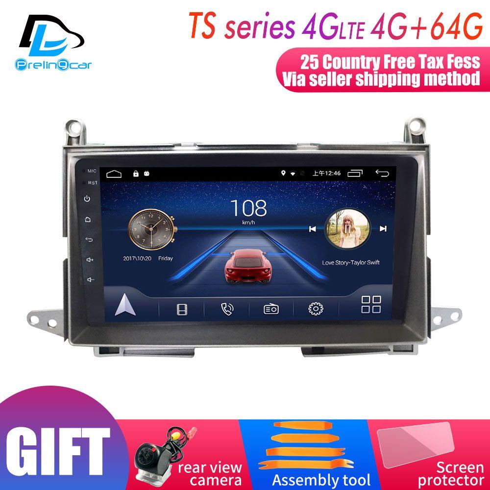 4G LTE net navigation player android 8.1 system stereo Für Toyota Vista venza 2009-2013 jahre gps multimedia-player radio