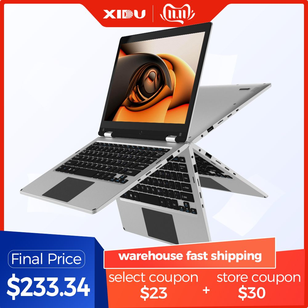2019 XIDU PhilBook Laptop 11,6 Inch PC Tablet 2 in 1 notebook Touchscreen Windows 10 1080P bildschirm Quad Core