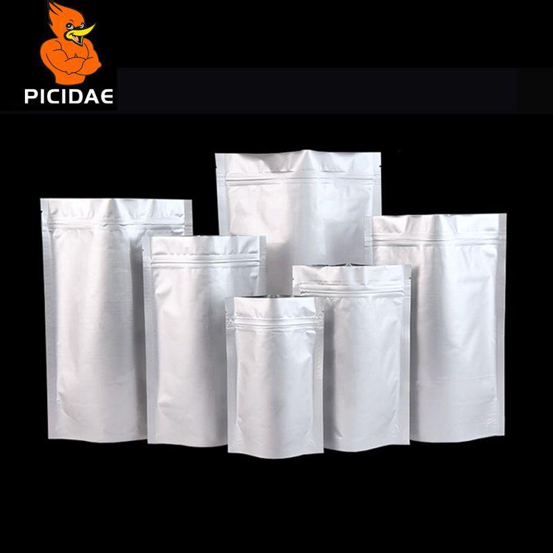 Stand capacité grande feuille d'aluminium fermeture à glissière emballage Mylar sac cuisson alimentaire odeur économiseur stratification thermoscellage paquet réutilisable