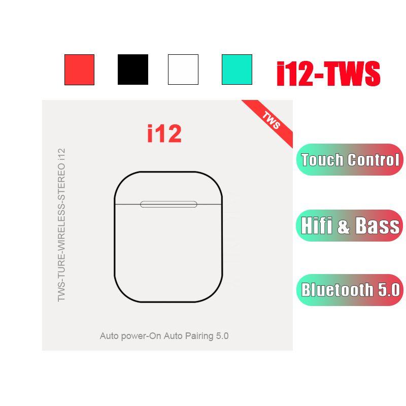Original Touch Mini Tws In Ear Wireless Earbuds Bluetooth 5.0 Earphones Bass Sport Headsets Auriculares i12 i80 i200 elari xiomi