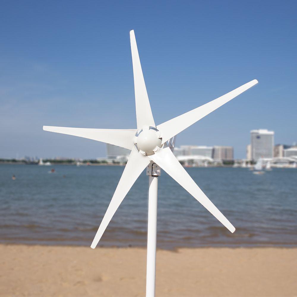 3/5 klingen DC12/24 V Hause Wind Turbine Generator mit 600W Windmühle Wind Controller Hause gerador eolico Ladung für Marine Boot