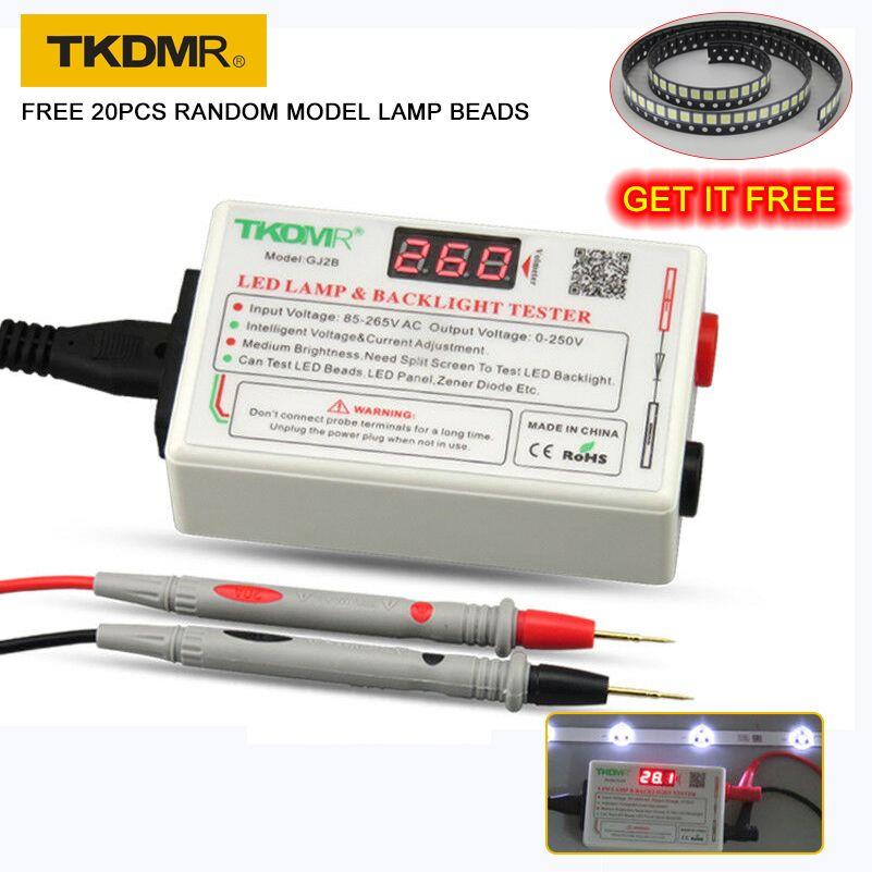 TKDMR 0-260V Smart-Fit tension Test LED rétro-éclairage testeur outil lampe perles pour LED LCD TV ordinateur portable livraison gratuite