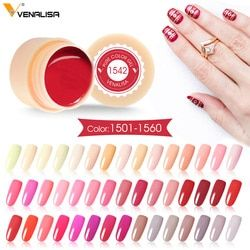 Venalisa Painting Gel 5ml CANNI Nude Red Hot Nail Art High Quality Salon Manicure 180 Color UV LED Line Drawing Painting UV Gel