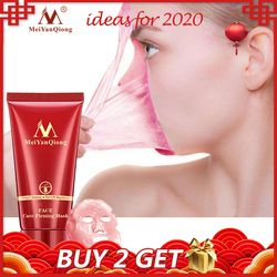 Deep Cleansing purifying peel off Black mud Facial face mask Remove blackhead facial mask strawberry nose Acne remover Face care