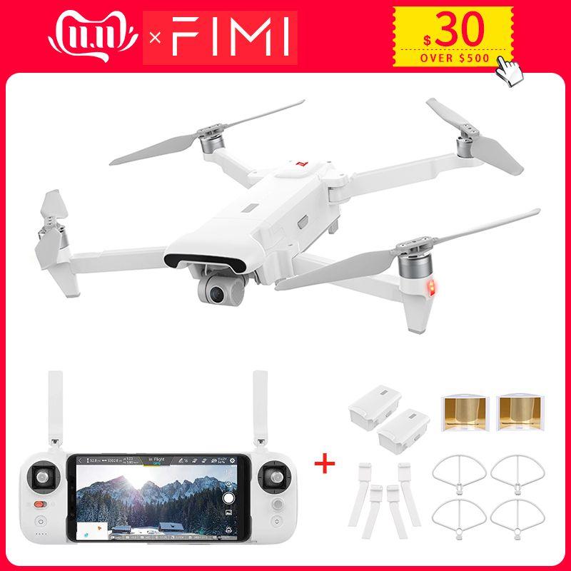 Großhandel Original FIMI X8 SE RC Drone mit 4K HD Kamera 5KM FPV 33 minuten Flug RTF Batterie landung Teile Geschenke
