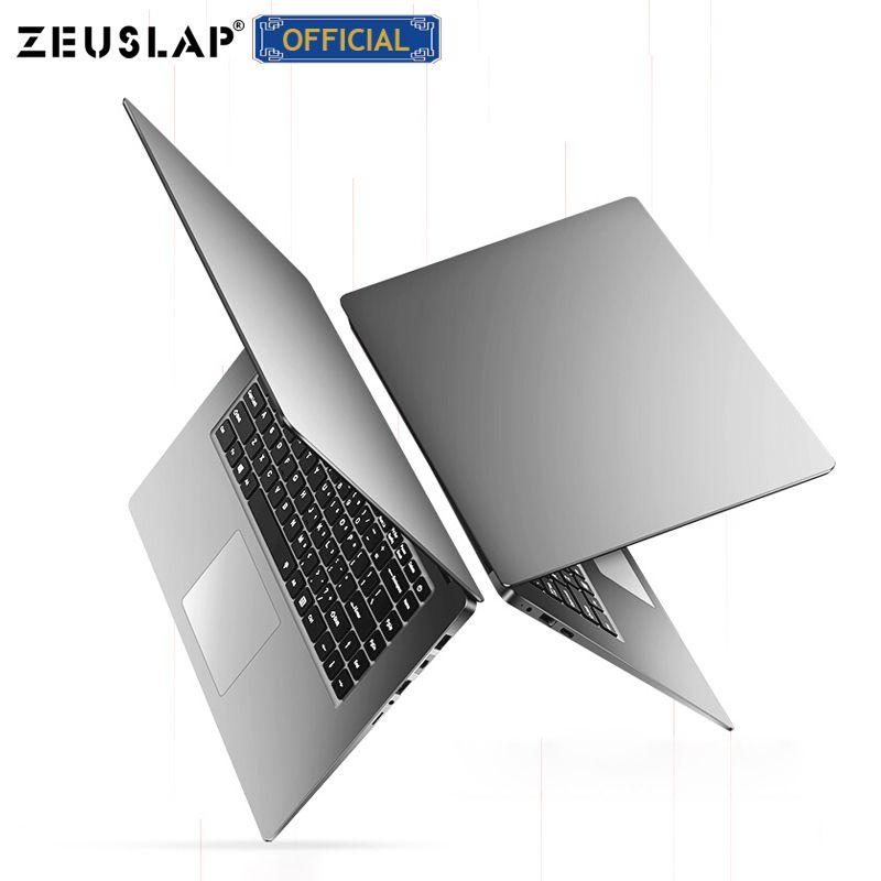 ZEUSLAP 15,6 zoll 8GB Ram bis zu 2TB HDD Intel Quad Core CPU 1920*1080P Volle HD Win10 System Schule Laptop Notebook Computer