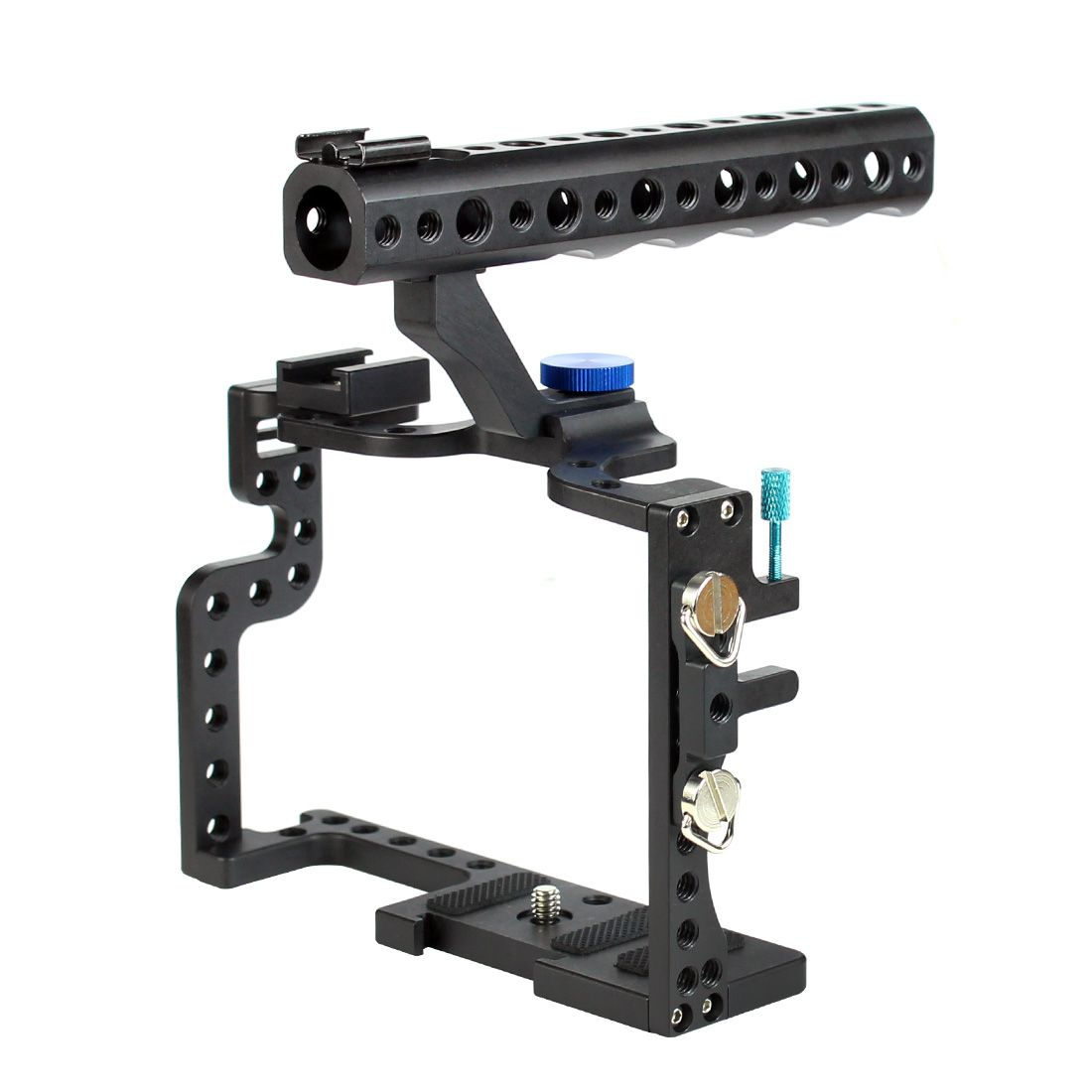 F11100 professionnel GH3 GH4 boîtier de protection poignée de valise poignée robuste Cage Combo Kit plateau montage DSLR plate-forme appareil photo numérique