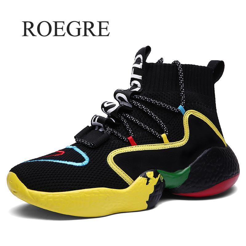 Homme Sneaker pour hommes marque plein air chaussures hautes élasticité chaud hiver marche chaussures décontractées homme chaussures tendance Zapatos Hombre 47 48
