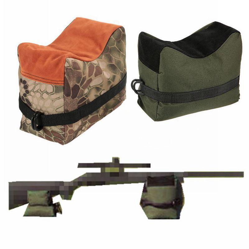 Sac de tir Sniper pistolet avant sac arrière Support de cible Support de fusil banc de sable non rempli en plein air