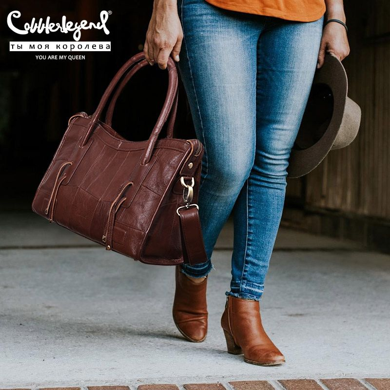 Cordonnier Legend Original en cuir véritable femmes sacs à bandoulière 2019 nouvelle tendance de loisirs dames sac à bandoulière pour les femmes sac à main