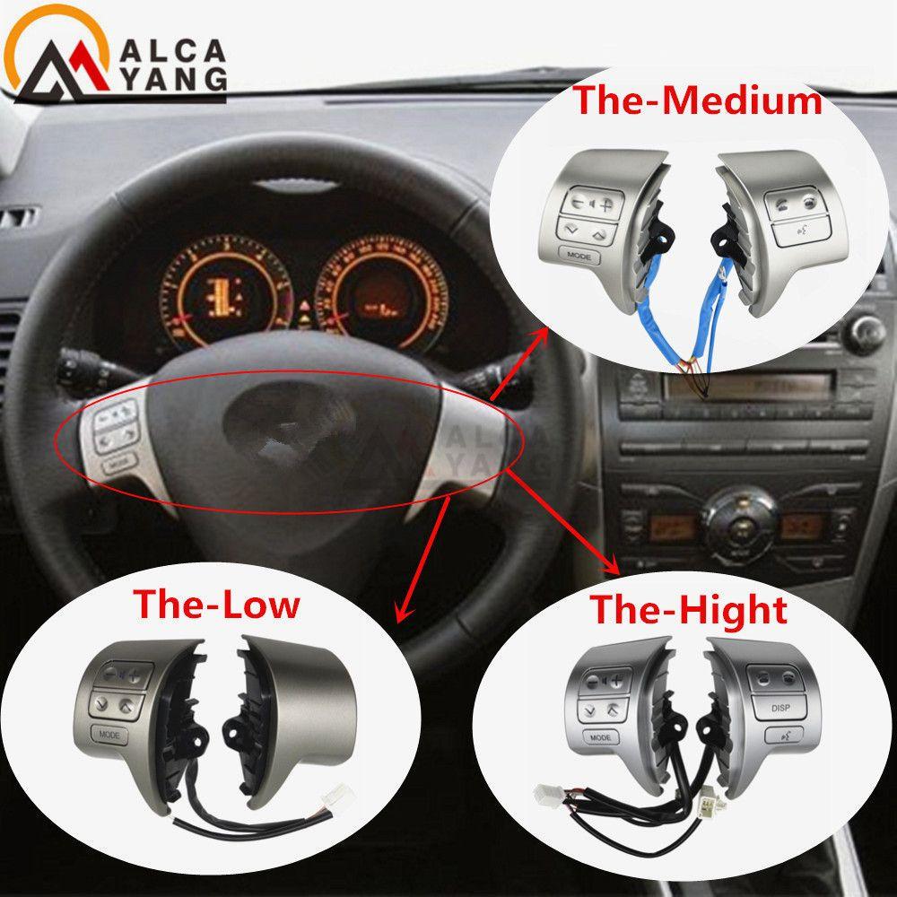 Interrupteur de commande Audio de volant Bluetooth 84250-02200 pour Toyota Corolla ZRE15 2007 ~ 2010