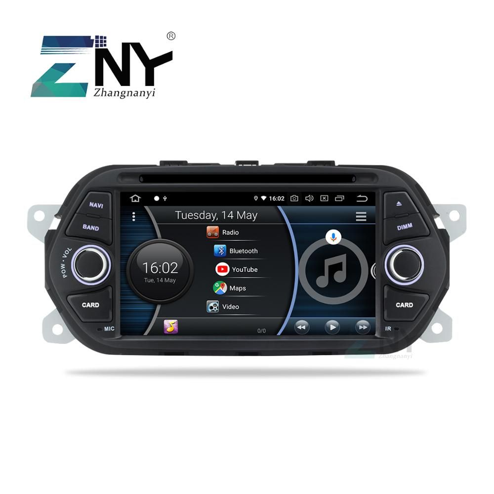 7 Android 9.0 Auto Stereo GPS Für Fiat Tipo Egea Dodge Neon 2015 2016 2017 2018 Radio DVD WiFi Audio video Navigation Hinten Cam