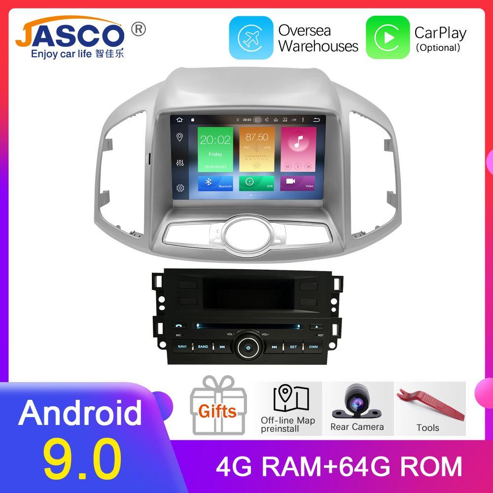 4G RAM Android 9.0 Auto DVD Stereo Für Chevrolet Captiva Epica 2012 2013 2014 2015 Auto Radio GPS Navigation Multimedia audio