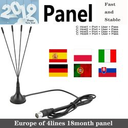 2019 Full HD Cam 4lines panel 1 Year for Europe spain portugal ect