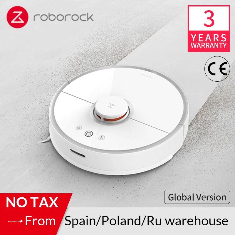 Roborock S50 S55 Roboter Staubsauger 2 für Home Smart Teppich Reinigung Staub Kehr Nass Wischen Mi Robotic Geplant Sauber