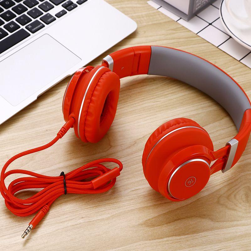 Ordinateur filaire casque EP16 casque mp3 Sport jeu casque pour musique multimédia mp3 bureau version casque ep16 avec microphone