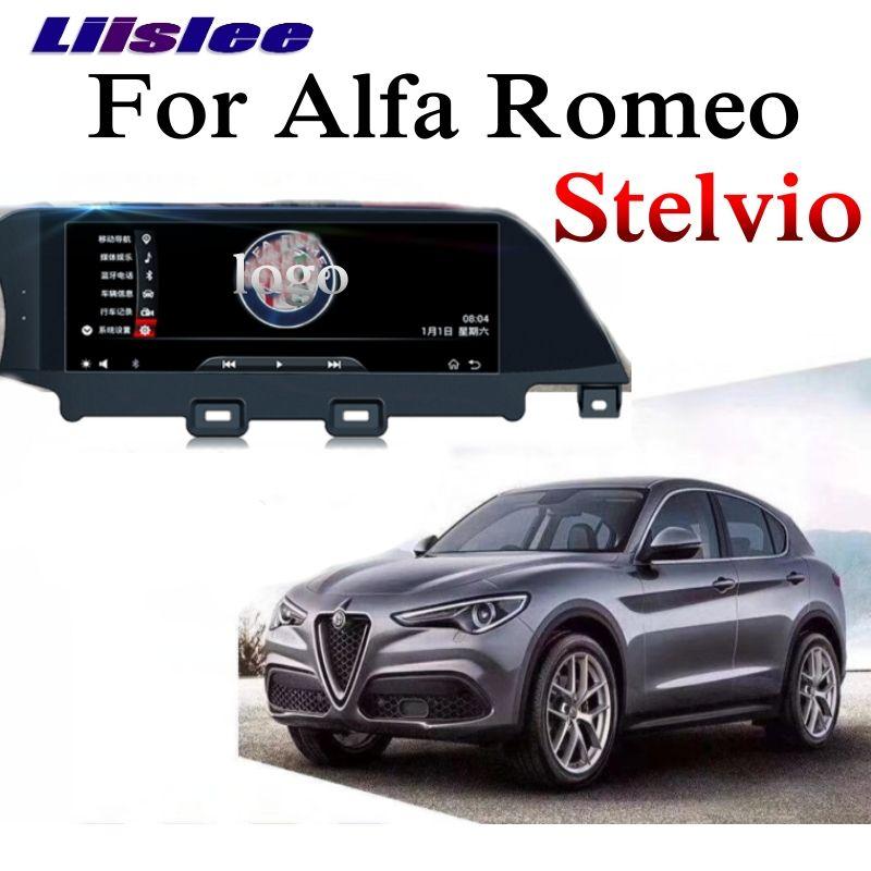 Für Alfa Romeo Stelvio 2017 2018 2019 Auto Multimedia Zubehör CarPlay 10,25 zoll GPS Radio Original System Navigation NAVI