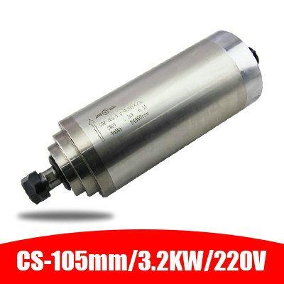 220 V/380 V 3.2KW GDZ-105-30 ER20 105mm durchmesser der spindel motor wasser-gekühlt elektrische spindel carving maschine zubehör