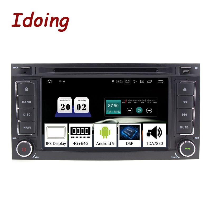 Idoing 7 2Din Auto Android 9.0 Radio Player Für Volkswagen Touar PX5 4GB + 64G Octa Core IPS DSP GPS Navigation Multimedia 2 din