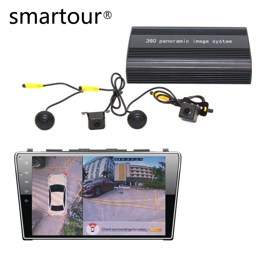 Smartour auto 1080P Super HD 360 Grad vogel Ansicht System Panorama Ansicht Alle runde Kamera mit DVR fahren Surround recoder