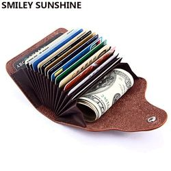 Smiley Sunshine, натуральная кожа, унисекс, визитница, кошелек для банковских карт, футляр для кредитных карт, женские визитницы, держатель для карт
