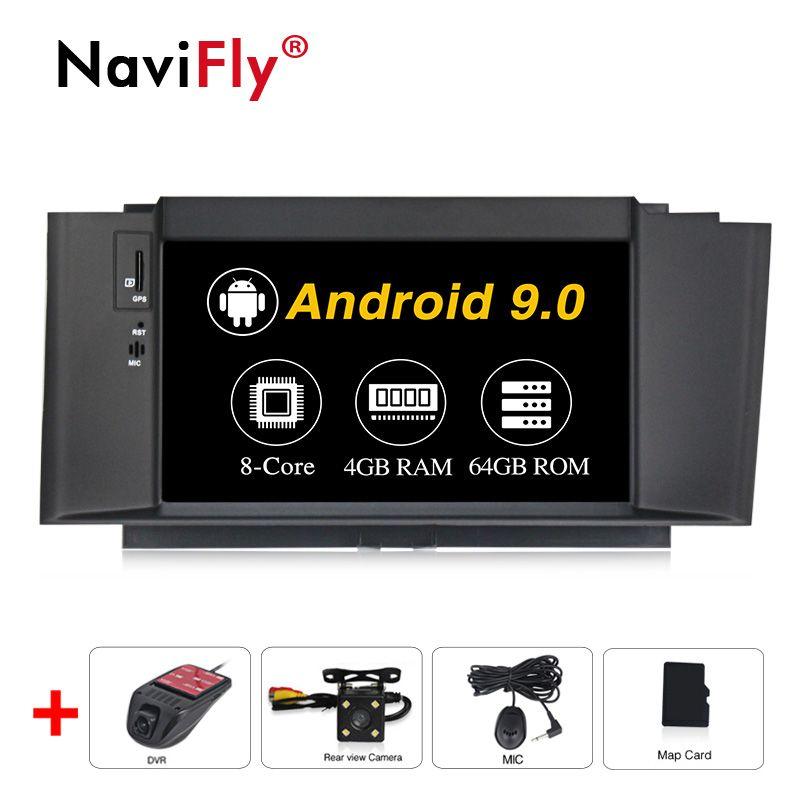 4G RAM 64G ROM Android 9.0 Auto Radio DVD GPS Navigation Multimedia Player Für Citroen C4 C4L DS4 2011 -2016 auto wifi 4G RDS BT