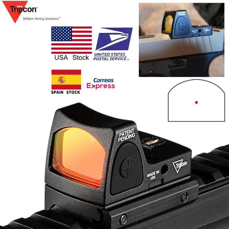 Lunette de visée réflexe de Glock de collimateur de visée de point rouge de Mini RMR des états-unis adaptée au Rail de tisserand de 20mm pour la RL5-0004-2 de fusil de chasse d'airsoft