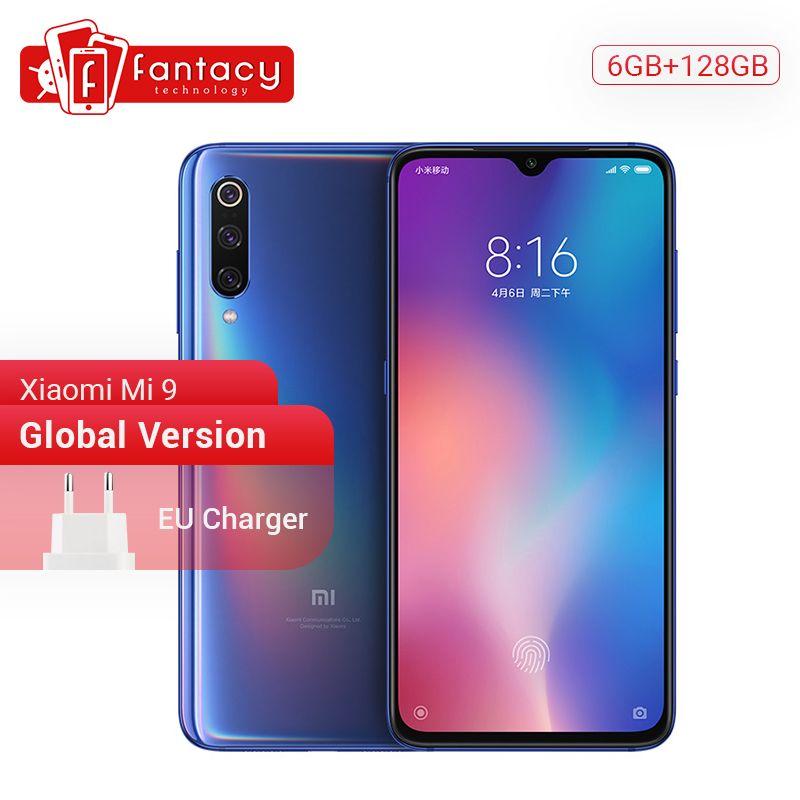 Globale Version Xiao mi mi 9 mi 9 Snapdragon 855 6GB RAM 128GB ROM 6,39