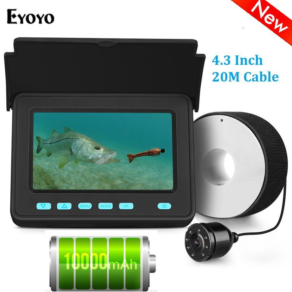 Eyoyo EFPRO 20M appareil photo sous-marin pour la pêche 4.3