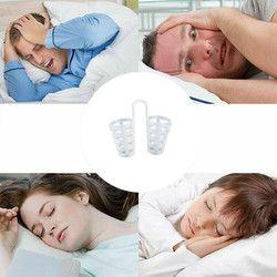 HOT!!!Anti Snoring Breathe Easy Sleep Nose Clip Snore  Stopper Aid Nasal Dilators Device Congestion Aid No Strips Cones