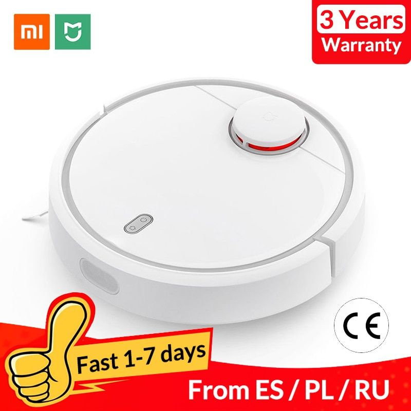 Global Version XIAOMI Mi Robot Vacuum Cleaner for Home Automatic Sweeping Dust Sterilize Smart Planned Wifi App Remote Control