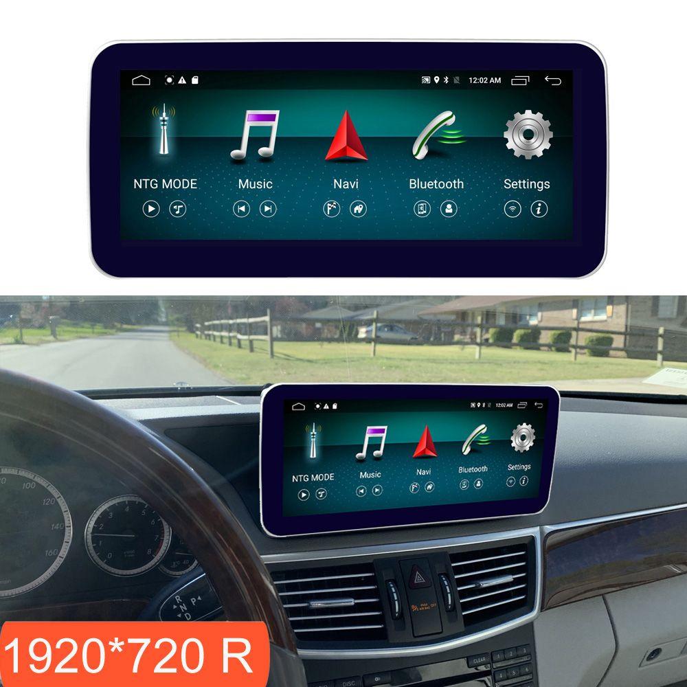 10,25 zoll 4 + 64G Android Display für Mercedes Benz E Klasse W212 2009-2016 Auto Radio Bildschirm GPS Navigation Bluetooth Touchscreen