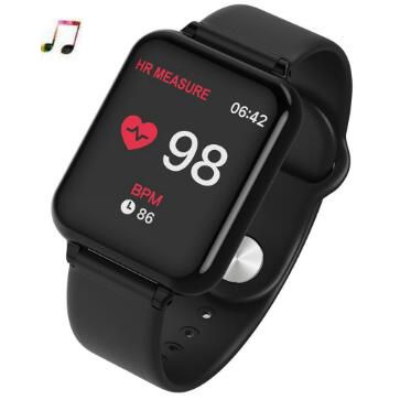 Nouveau B57 montre intelligente hommes Sport montre femmes Fitness Tracker fréquence cardiaque bracelet intelligent bracelet intelligent pour ios android apple montre
