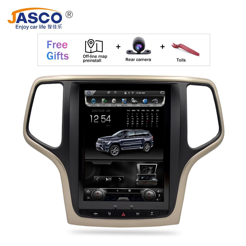 10,4 Vertikale Bildschirm Android 7.1 Auto DVD GPS Glonass Navigation Radio Player für Jeep Grand Cherokee 2013-2016 RAM 2GB 32G Stereo