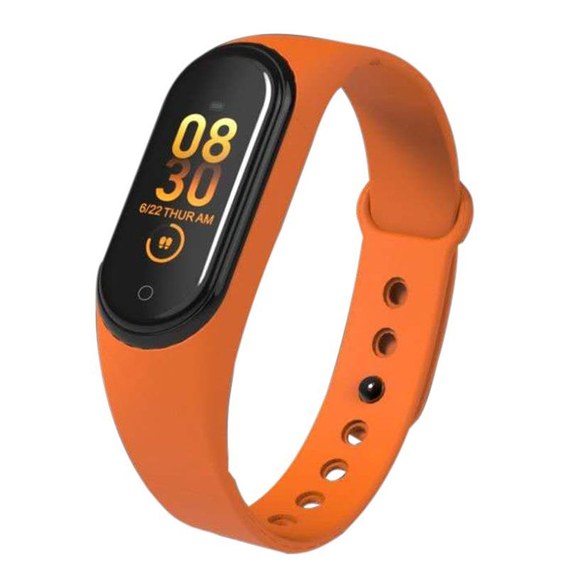 Fitness Watch M4 HR Blood Pressure Waterproof Smart Bracelet Calories Smart Wristband Sport Watch for iOS Android Dropshipping