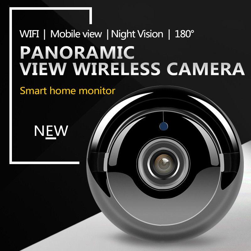 ZILNK Fisheye IP caméra 960P HD 180 degrés WiFi caméra réseau sans fil sécurité à domicile IR MINI caméra bébé moniteur vue