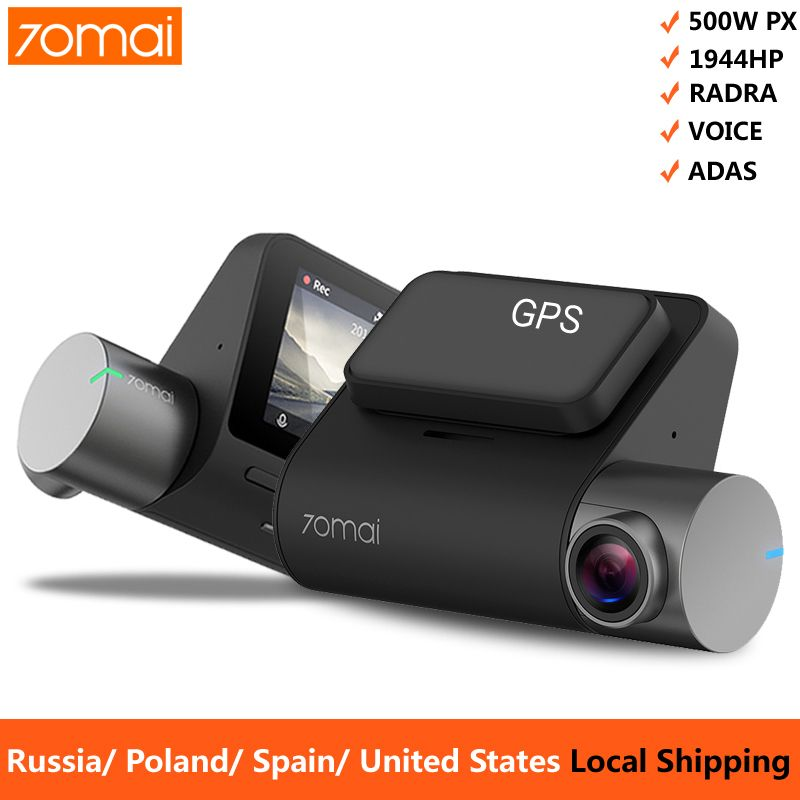 Xiaomi 70mai Pro Dash Cam 1944P GPS ADAS Car Camera Dvr 70 mai Pro Dashcam Voice Control 24H Parking Monitor WIFI Vehicle Camera