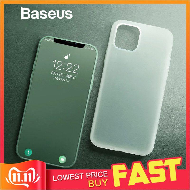 Étui pour iPhone en Silicone liquide Baseus 11 Pro Coque en Silicone pour iPhone 11 Pro Coque arrière pour téléphone
