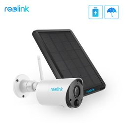 Reolink Argus Eco dan Solar Power Pengisian Kamera Wifi 1080P Full HD Keamanan IP Cam Outdoor Indoor Video Surveillance dengan Pir
