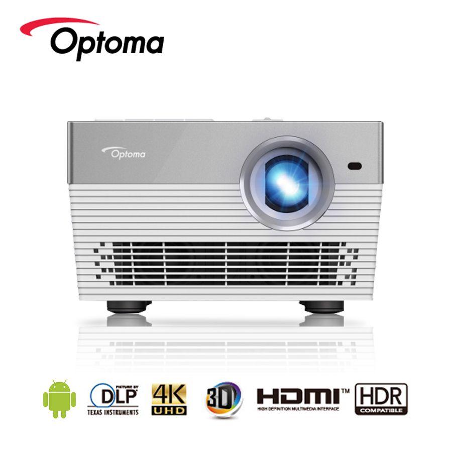 Optoma I5 + 4 K Projektor Android Blu-ray 3D UHD HDR DLP 3840x2160 Auflösung 1700 ANSI lumen LED HDMI USB Beamer für Heimkino