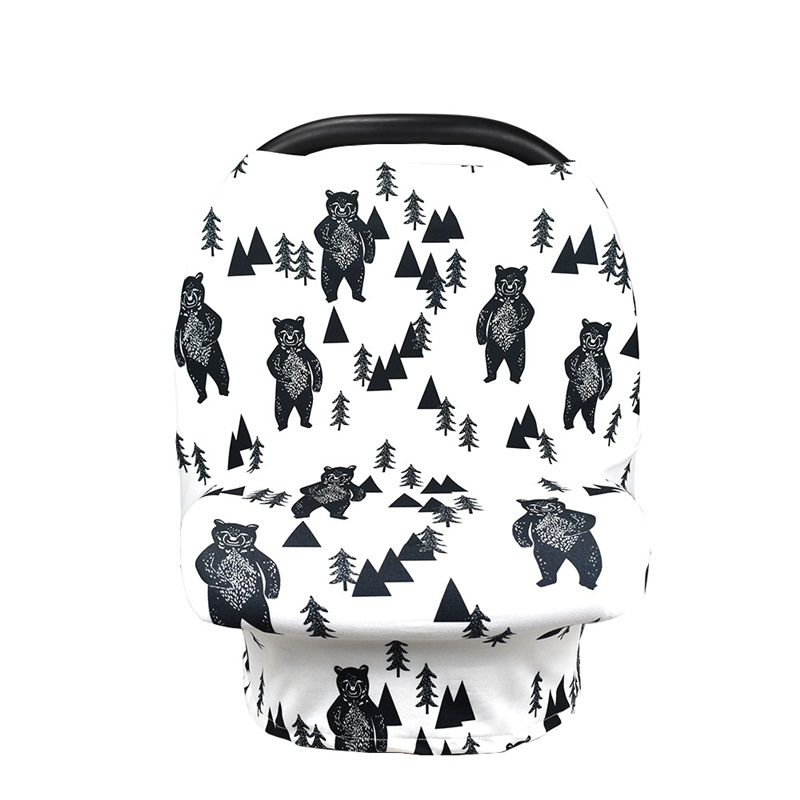 Multifunctional Breastfeeding Nursing Cover Baby Stroller Cover New Baby Car Seat Canopy Shopping Cart Cover for Breastfeeding