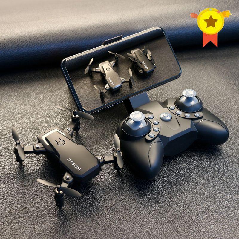 Mini Drone pliable avec quadricoptère RC avec caméra quadricoptère HD avec hélicoptère RC haute tenue avec jouets pour