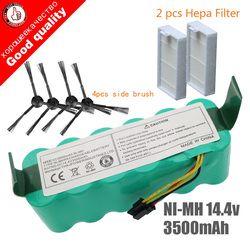 7 шт. Ni-MH 14,4 В 3500 мАч для panda X500 батарея Для Ecovacs Зеркало CR120 пылесос Dibea X500 X580 X600 батарея