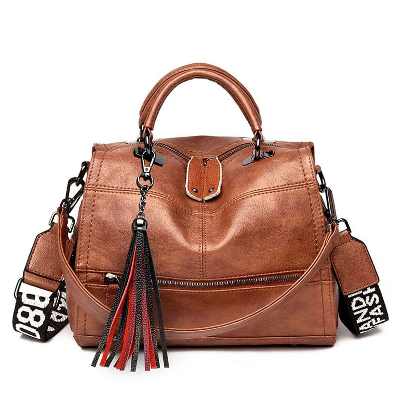 Vintage gland en cuir souple de luxe sacs à main femmes sacs Designer dames décontracté fourre-tout Sac à bandoulière épaule sacs pour femmes Sac