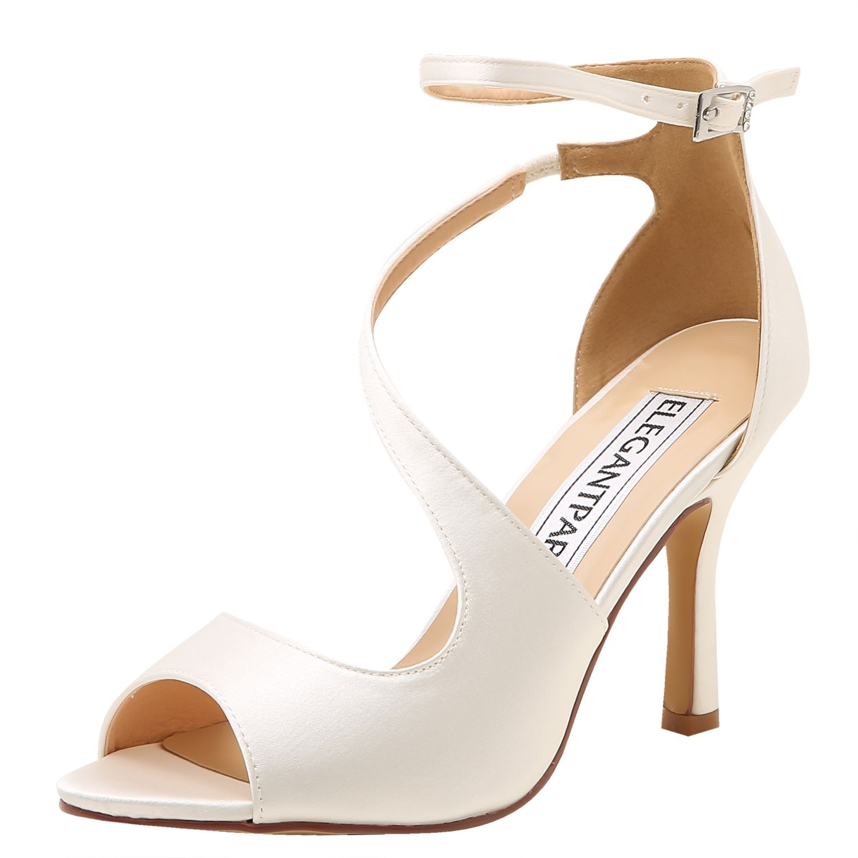 sandale femme talon escarpins bleu marine chaussure ivoire mariage chaussure ouverte talon aiguilles chaussure
