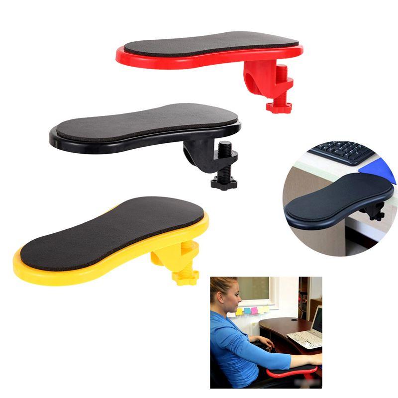 Accoudoir amovible coussin ordinateur de bureau Table bras repose-poignet Extender ABS main épaule protéger tapis de souris 29x12 cm