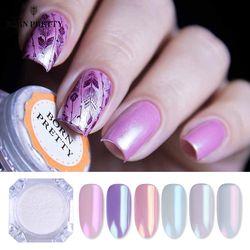 Pearl Shell Nail Glitter Powder Shimmer Powder Pigment Gradient Glimmer Dust Nail Art Decorations