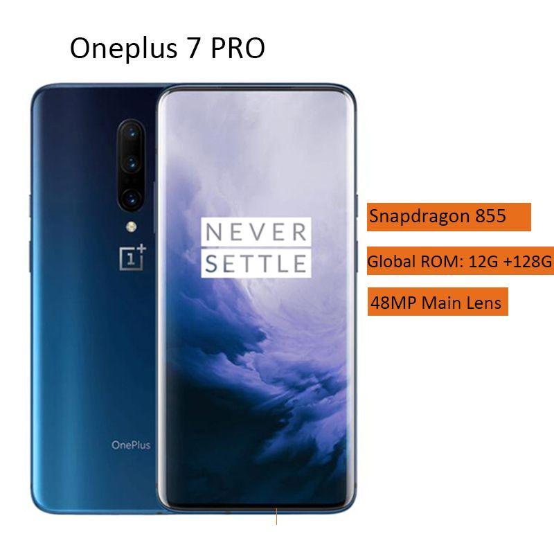 OnePlus 7 Pro 4G Smartphone 6,67 zoll Android 9.0 Octa Core 12GB RAM 256GB ROM 48.0MP + 16.0MP + 8.0MP Kamera 4000mAh Handy