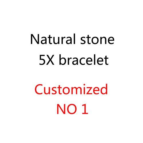 BRACELET 5X pierre naturelle