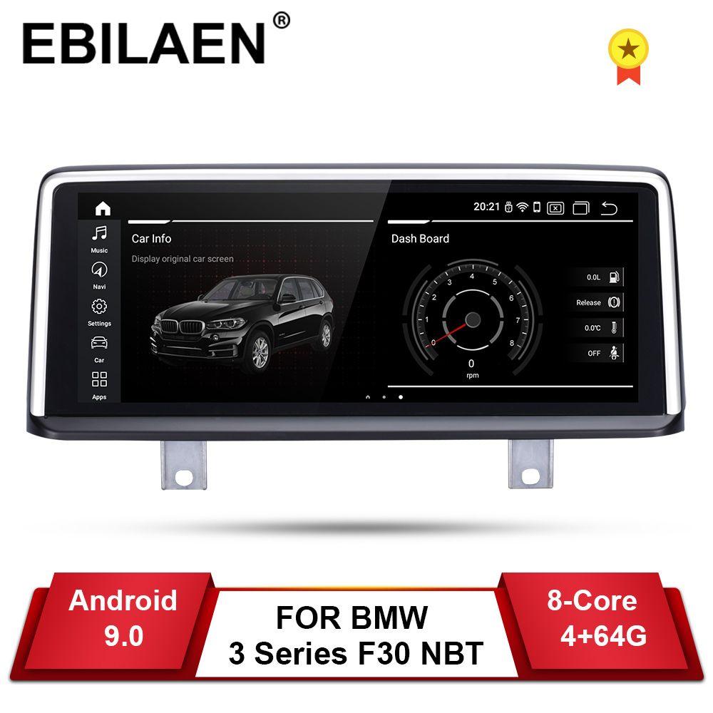 EBILAEN Auto Radio GPS Für BMW F30 F31 F36 F34 F32 F33 F20 F21 NBT System Einheit PC Android 9.0 Autoradio navigation Multimedia
